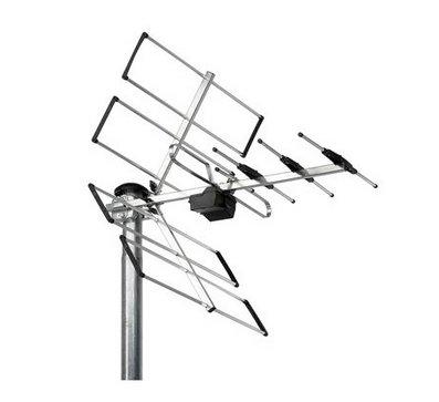 Ulkona antenni kytkennät